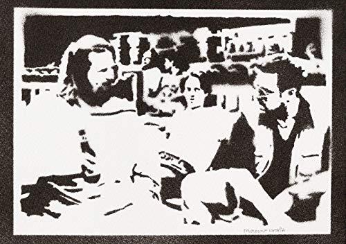 The Big Lebowski Poster Plakat Handmade Graffiti