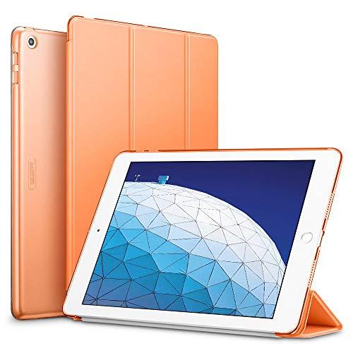 ESR Hülle kompatibel mit iPad Air 3 2019 10.5 Zoll - Ultra Dünnes Smart Case Cover mit Auto Schlaf-/Aufwachfunktion - Kratzfeste Schutzhülle für iPad Air 3th Generation - Papaya -