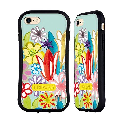 Ufficiale Turnowsky Modello Floreale 1 Fantasia 2 Case Ibrida per Apple iPhone 7 Plus / 8 Plus Modello Floreale 1