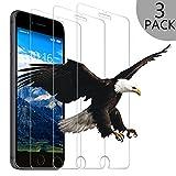 Schutzfolie für iPhone 8, [3 Stück] Wsky Panzerglas für iPhone 8, 3D Touch Kompatibel, 9H Härte-Anti-Öl, Kratzer, Blasen und Fingerabdruck, Panzerglasfolie Displayschutzfolie für iPhone 8 (4,7 Zoll)