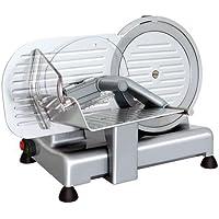 RGV Luxor 22 Eléctrico 120W Aluminio Plata rebanadora - Cortafiambres (Aluminio, Plata, 12 kg, 320 x 410 x 315 mm, 390 x 510 x 350 mm)