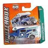 Matchbox Wohnmobil MBX RV Blau - Motor Home - MBX Explorers - Camper Caravan