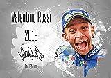 Valentino Rossi Kalender 2018 - Premium Wandkalender im Format DIN A2 - RIESIG