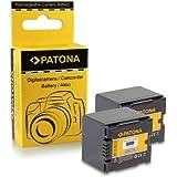 2x Batterie CGA-DU14, VW-VBD140 pour Panasonic NV-GS10 | NV-GS17 | NV-GS21 | NV-GS22 | NV-GS24 | NV-GS26 | NV-GS27 | PV-GS19 | PV-GS29 | PV-GS31 | PV-GS32 | SDR-H18 | SDR-H20 | SDR-H21 | SDR-H200 | SDR-H250 | SDR-H280 | VDR-D100 | VDR-D150 | VDR-D152 | VDR-D158 | VDR-D160 | VDR-D200 | VDR-M30 | VDR-M50 | VDR-M53 | VDR-M54 | VDR-M55 | VDR-M70 | VDR-M74 | VDR-M75 | VDR-M95 | VDR-M250 et bien plus encore…