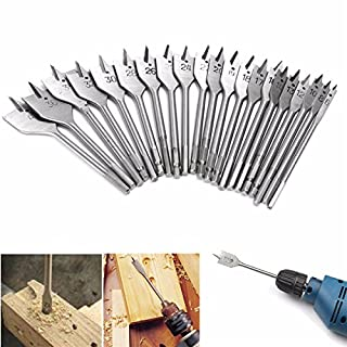 EsportsMJJ 6-40Mm Flat Spade Wood Drill Bit Hex Shank Woodworking Spade Drill Bit Hole Cutter - 26Mm