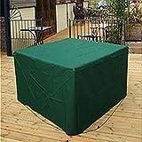 Yunhigh wasserdicht im Freien Gartenmöbel Abdeckung Konservatorium Möbel Schutz Schutzhülle für Sofas Stühle Bank Tisch - schwarz