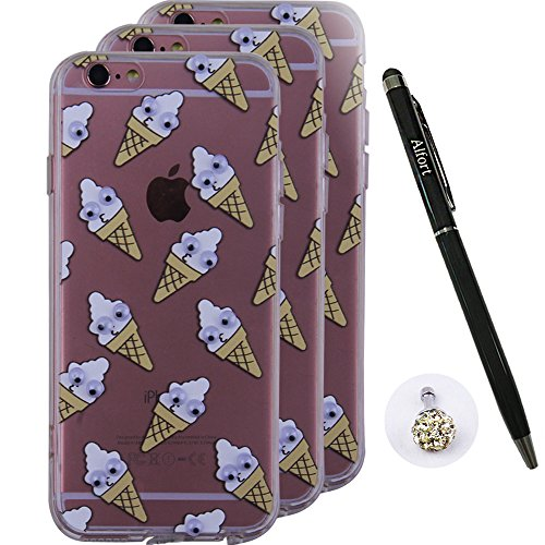iPhone 6 Plus / 6s Plus Hülle, Alfort 3 in 1 3D Handyhülle Schutzhülle PC + TPU Case Cover Telefon Kasten Vollschutz Fashion Design Dual Use für Apple iPhone 6 Plus / 6s Plus 5.5