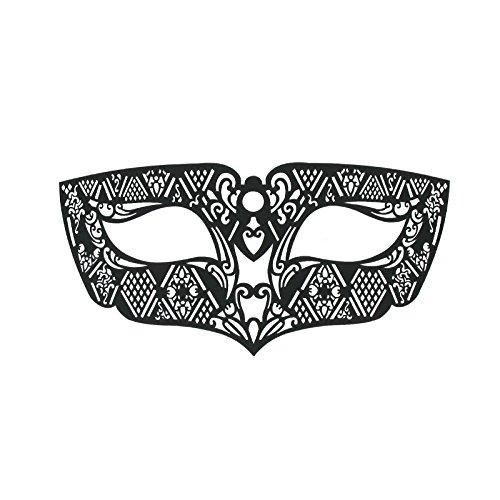 SiaLinda: Maske selbstklebend, verschieden Modelle, Maske für Brillenträger. Venezianische Maske zum abziehen. Sehr angenehm zu tragen. Mehrfach verwendbar. (Masken Für Maskenbälle)