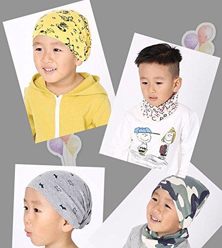 Gespout Invierno Moderno Bebé Bufanda de Algodón Cálido Cuello Manga de Múltiples Funciones de Algodón # 38 Tamaño: 40… 3