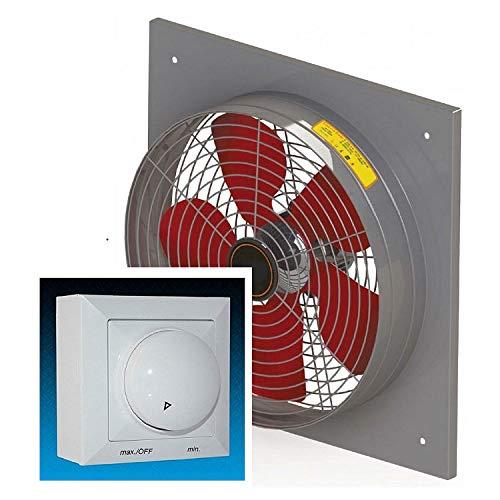 500mm Industriali Ventilatore 6900m³/h con 500Watt regolatore aspiratori finestra parete ventilatori elicoidale ventilazione assiale estrattore ventilatore Assiale