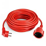 SIMBR Cable alargador de corriente IP20 H05VV Alargador cable de gran calidad 10m 15m 20m 30m Color...