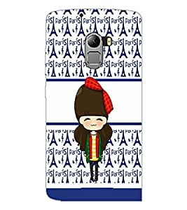 PrintDhaba Cute Doll D-5877 Back Case Cover for LENOVO K4 NOTE A7010 (Multi-Coloured)