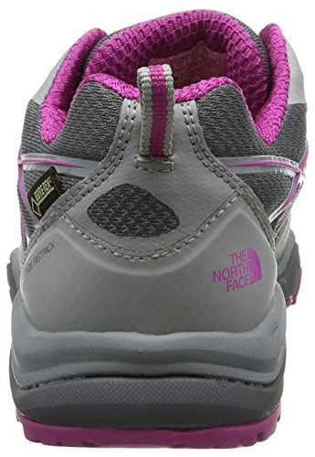 The North Face Hedgehog Fastpack Lite Gore-Tex, Chaussures de Randonnée Basses Femme Gris (Ju5 Griffin Grey/Fu)