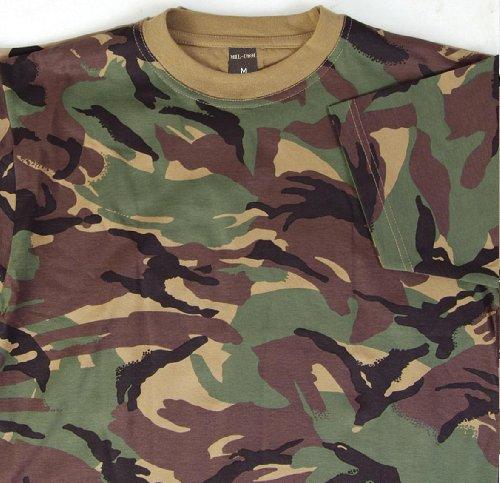 Mil-Com Kids DPM Woodland T-Shirt (T-shirt Kids Camouflage Woodland)