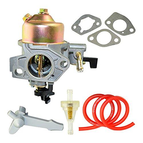 AHL Vergaser Carburetor Carb mit 30cm Ölschlauch & Kraftstofffilter & Dichtungen & Hebel für HONDA GX390 13HP