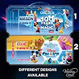Novità regalo personalizzato Disney on Ice Birthday Concert theatre Christmas ticket Event Celebration party Holiday Disneyland Florida Paris