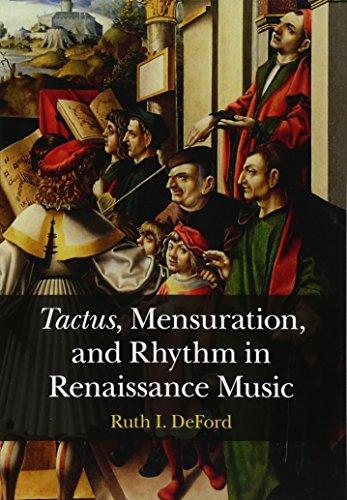 Tactus, Mensuration and Rhythm in Renaissance Music por Ruth I. DeFord