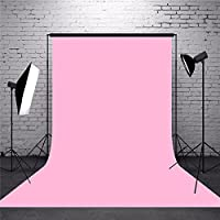 Shomex 8 x12 FT Pink Color LEKERA Cloth Backdrop Photo Light Studio Photography Background