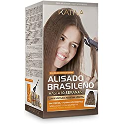 Kativa - Kit De Lissage Brésilien à la Kératine et à l'Huile d'Argan