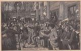 Weihnachten - Amerikanische Weihnachten: In der New Yorker Börse am Weihnachtstag. [Grafik]
