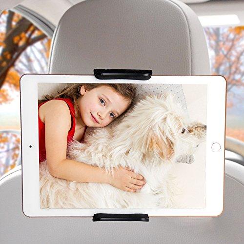 Tablet Kopfstützenhalter, Vitutech KFZ-Kopfstützen Mobiltelefon / Tablet Halterung Universal Auto Rücksitz Kopfstütze Halterung für iPad 2/3/Mini/Air, Samsung Galaxy Tab, 6-11 Zoll Tablets und die mehr als 3,5-Zoll-Handy-Bildschirm