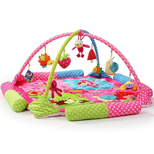 H.L Play Mat & Activity Gym, New-Born Baby Play Mat con Música Y Sonidos, Infant/Toddlers/Newborn (Color : 1)