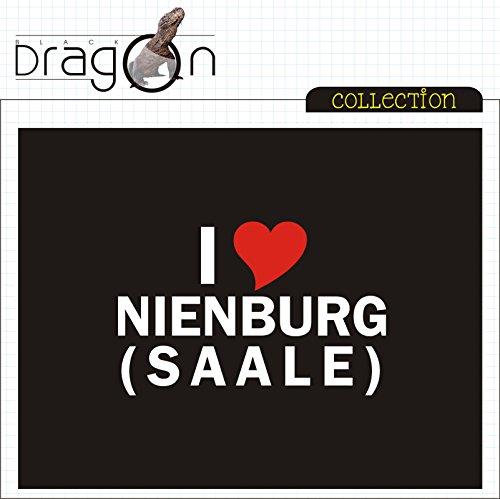 T-Shirt - i Love Nienburg (Saale) - Herren - unisex Schwarz ...