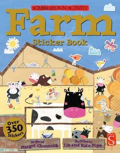 Farm Sticker Book (Scribblers Fun Activity)