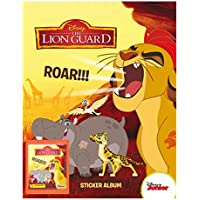 Panini Disney The Lion Guard Sticker Starter Pack - Album & 31 Stickers