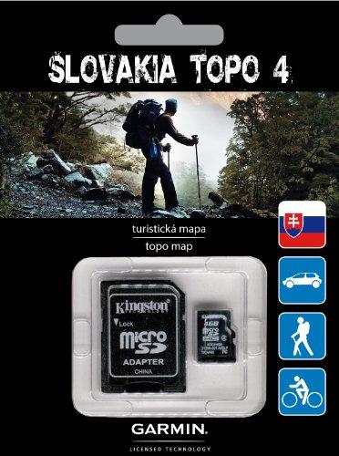 Garmin Slowakei TOPO v4 Topographische Karten für die Slowakei -