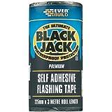 Everbuild EVBFLAS225 225 mm x 10 m Black Jack Flash Trade Fixing Glue by Everbuild