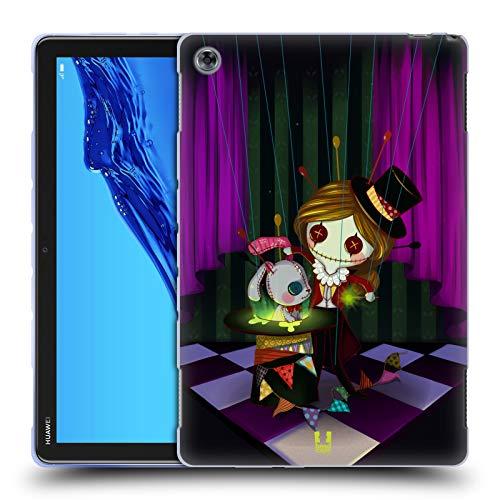 Head Case Designs Zauberer Voodoo Puppen 2 Soft Gel Hülle für Huawei MediaPad M5 Lite