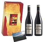 Außergewöhnliches Weinsortiment Condamine Bertrand Rotwein Frankreich in 2er Geschenkverpackung Harmonie Terravini