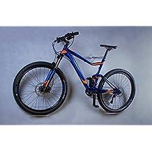 Soporte de pared para bicicleta trelixx en acrílico (acabado láser) para bicicleta de montaña , soporte de diseño para bicicleta con montaje en la pared, probado mil veces
