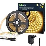 LE Ruban LED Lumineux 5M 12V Blanc Chaud 3000k V2835 300LEDs Bande LED Lumineuse...