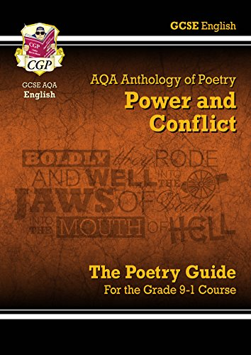New GCSE English Literature AQA Poetry Guide: Power & Conflict Anthology - for the Grade 9-1 Course (CGP GCSE English 9-1 Revision) (English Edition)