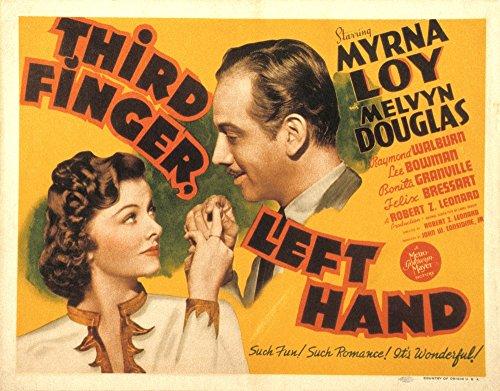 Hand Movie Poster (Third Finger Left Hand Movie Poster Masterprint (71,12 x 55,88 cm))