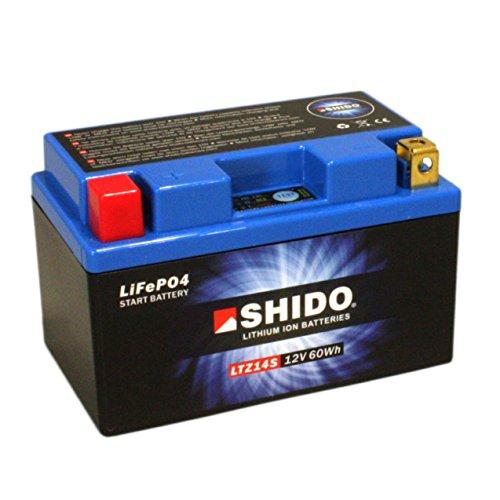 Batteria al Litio SHIDO ltz14s/YTZ14S, 12V/11,2ah (dimensioni: 150X 87X 110) per Honda DN 01680anno di costruzione 2011