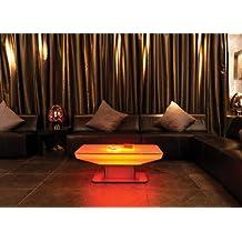 Couchtisch Studio 36 LED Pro Wohnzimmertisch Leuchttisch By Moree FarbsteuerungRC Fernbedienung