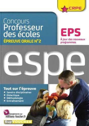 Concours professeur des coles - EPS - Oral d'admission