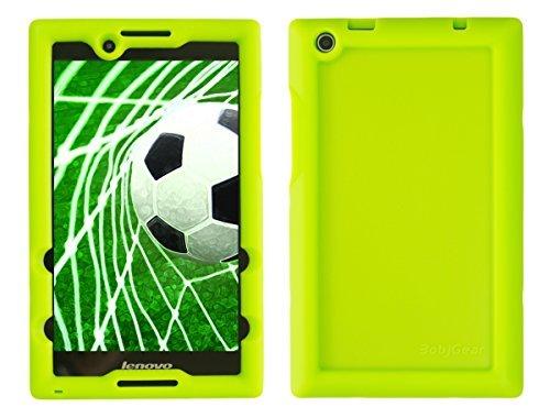 Bobj Etui en Silicone Robuste pour Tablette Lenovo Tab 2 A8-50, A8-50F, aussi Lenovo Tab 3 TB3-850F, TB3-850M - BobjGear Housse de Protection (Vert)