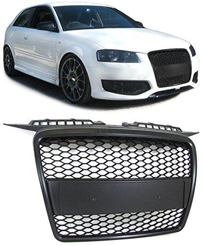 Carparts-Online 20400 Sport Grill Kühlergrill ohne Emblem schwarz