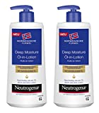 Neutrogena Norwegische Formel Deep Moisture Öl-in-Lotion – 2 x 250ml