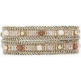 Hipanema Femme Acier Bracelet en chaîne - E18MAMALWH