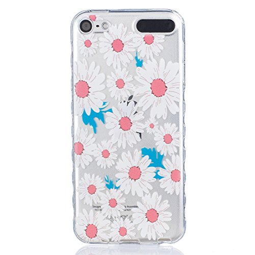 Lotuslnn iPhone 6/6S Coque (4.7 Pouce),Apple iPhone 6/6s TPU Silikon Etui Transparent Housse Cases and Covers (Coque+ Stylus Pen + Tempered Glass Protective Film)- fleurs de cerisier C Une fleur 2