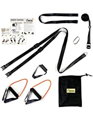 WOSS 3000 Equalizer Suspension Trainer, Black, Made in USA