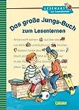 Das große Jungs-Buch zum Lesenlernen: Einfache Geschichten zum Selberlesen – Lesen lernen, üben und vertiefen (LESEMAUS zum Lesenlernen Sammelbände)