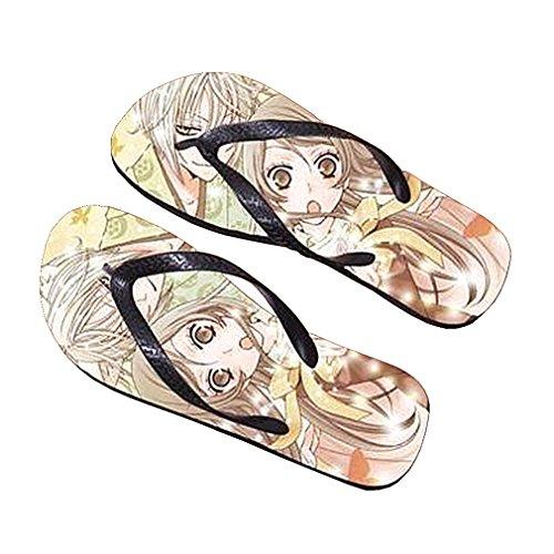 Bromeo Kamisama Love Anime Unisex Flip Flops Zehentrenner Flip Pantoffeln 856