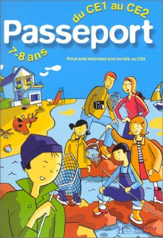 Passeport : Du CE1 au CE2 - 7-8 ans (+ corrigé)
