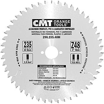 CMT Orange Tools 296,210,48 m scie circulaire 210 x 30 x 2,8 z 48/°-6 tcg